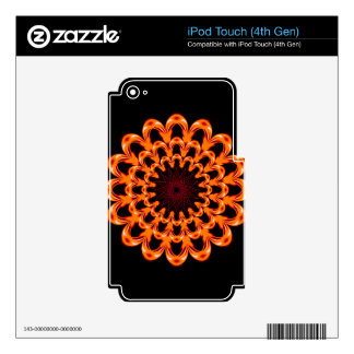 Art Design Patterns Modern classic tiles Beautiful Skins For iPod Touch 4G