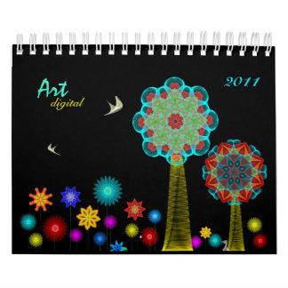 Art Digital 2012 calendar