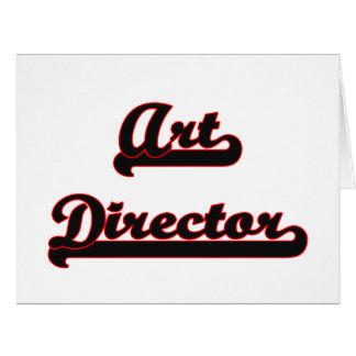 Art Director Classic Job Design Large Greeting Card