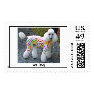 Art Dog, Art Dog Postage Stamps