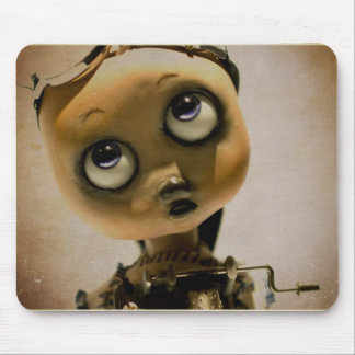 art doll mouse pad