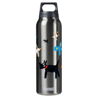 Art Drink Bottle: John Dyer Seagulls and Dogs SIGG Thermo 0.5L Insulated Bottle
