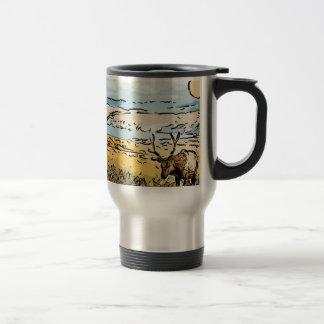 art-elk 15 oz stainless steel travel mug