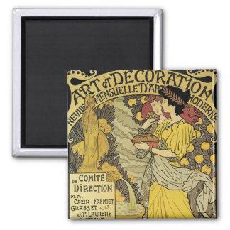 Art et Decoration Magnet