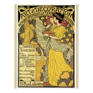 Art et Decoration Postcard