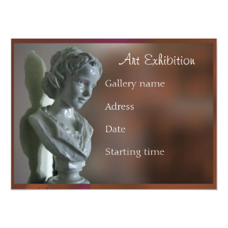 Art exhibition invitations announcements zazzle art exhibition invitation stopboris Choice Image
