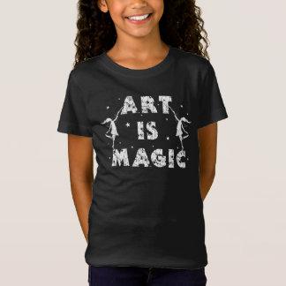 Art Fairies: Art Is Magic Kids T-Shirt