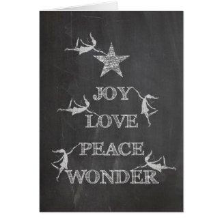Art Fairies: Joy, Love, Peace, Wonder Greeting Cards