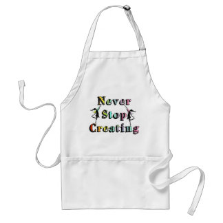 Art Fairies: Never Stop Creating Adult Apron