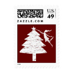 Art Fairy Christmas Tree Stamps