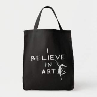 Art Fairy: I Believe In Art Bags
