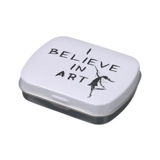 Art Fairy: I Believe In Art Candy Tins