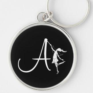 Art Fairy Inital: A Keychain