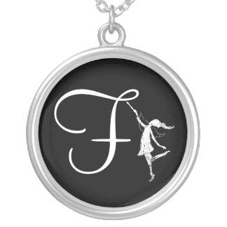 Art Fairy Inital: F Pendants