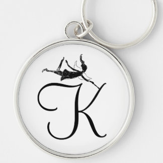 Art Fairy Inital: K Keychain