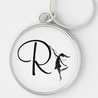 Art Fairy Inital: R Keychain