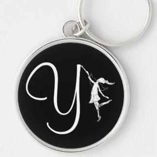 Art Fairy Inital: Y Keychain