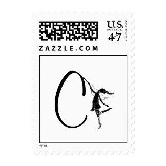 Art Fairy Initial: C Postage