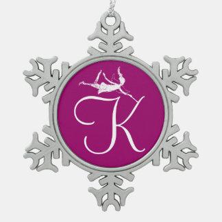 Art Fairy Initial K Ornaments