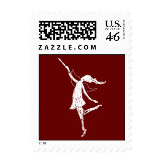 Art Fairy Postage Stamps
