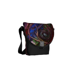 Art Festival mini Messenger Bag