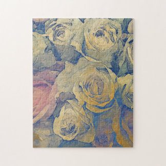 art floral vintage colorful background jigsaw puzzles
