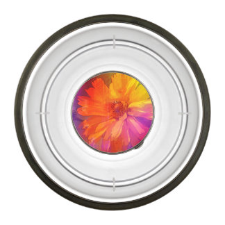Art Floral Vintage Rainbow Background Bowl