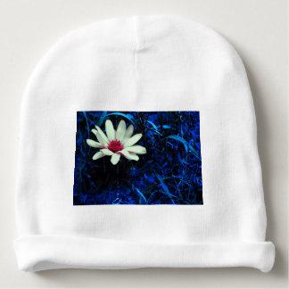 Art flower baby beanie