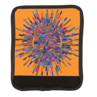 art-flower luggage handle wrap