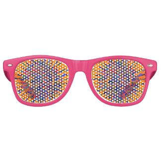 art-flower retro sunglasses