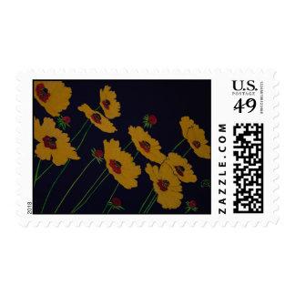 Art Flowers Stamp