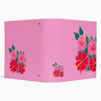 Art Folder: Hibiscus Pink 2inch Binder