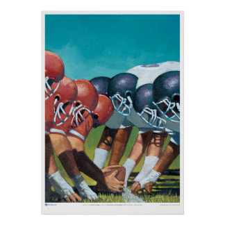 Art  for  'L is the Line of Scrimmage' Poster