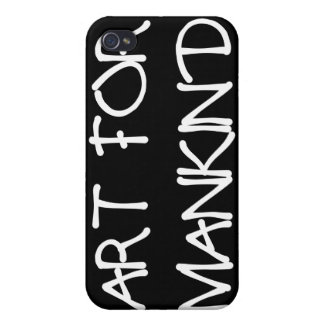 ART_FOR_MANKIND COVER FOR iPhone 4