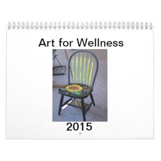 Art for Wellness Wall Calendar