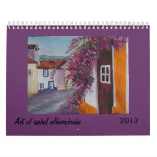 Art from isabel alfarrobinha 2013 calendar