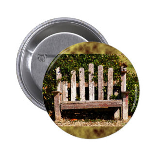 Art From Photography: Sitting Pretty Pinback Button