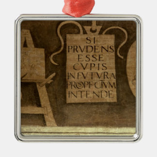 Art, from 'The Liberal Arts' cycle (fresco) Metal Ornament