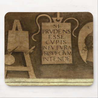 Art, from 'The Liberal Arts' cycle (fresco) Mouse Pad