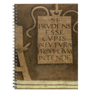 Art, from 'The Liberal Arts' cycle (fresco) Notebook