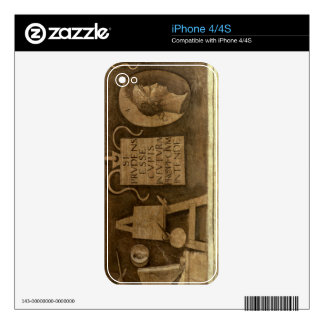 Art, from 'The Liberal Arts' cycle (fresco) Skin For iPhone 4S