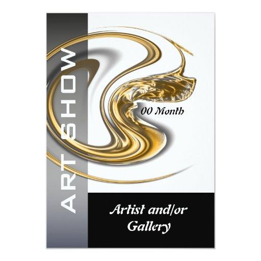 Art gallery jewelery CUSTOMIZE Card