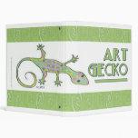 Art Gecko Binder