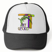 Art Gecko Trucker Hat