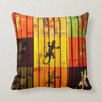 Art Geckos Pillow