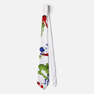 Art Geek Paint Splatter Tie