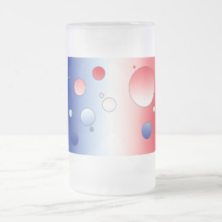 Art Gifts for French People: Flag Colors of France Mugs