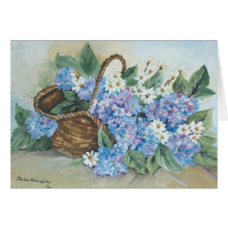 art gifts greeting card