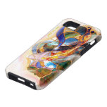 Art Glass Japanese Koi Fishing Cool iPhone 5 Cover