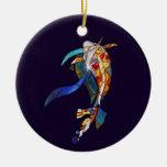 Art Glass Koi Fish  ORNAMENT